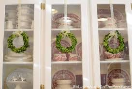 boxwood wreaths decorating with preserved boxwood wreaths