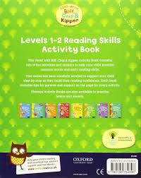 Activity Book For Children 1 6 Oxford Reading Skills Activity Book Levels 1 2 Read With Biff Chip And