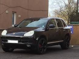 porsche cayenne all black black porsche cayenne 3 2 may px or swap in inverness