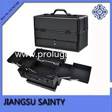 Make Up Vanity Case Design Makeup Vanity Case Black Abs Train Makeup Case With Drawers