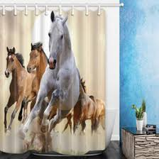 Horse Shower Curtains Sale Discount Horse Curtains 2017 Horse Curtains On Sale At Dhgate Com