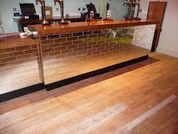 Wall Bar Ideas by Tile Front And Either Wood Or Concrete Bar Kitchen Island