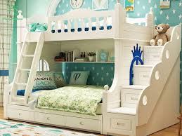 solid wood bunk beds with desk med art home design posters