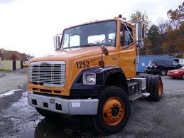 2003 freightliner fl106 single axle day cab tractor for sale by