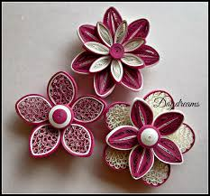 daydreams for my love for quilled flowers craft quilling