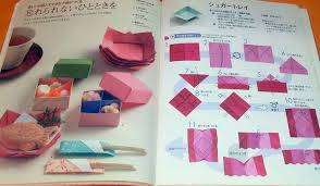 Book Paper Folding - practical origami japanese paper folding book from japan books