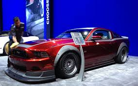 mustang gt rtr top six ford mustangs at the 2012 sema