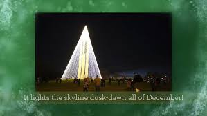 carillon tree of light dazzles sky with help of whio tv staff
