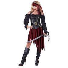 halloween costumes for women pirate buy queen of the high seas womens pirate costume