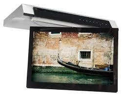under cabinet mount tv for kitchen coffee table elegant kitchen under cabinet televisions galley