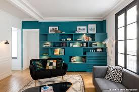 chambre noir et turquoise chambre bleu turquoise with contemporain salon décoration de la