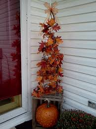 tomato cage tree can change from halloween to fall to christmas