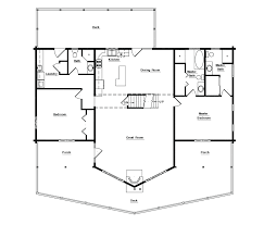 Log Homes Floor Plans With Pictures by The Brush Creek U2022 3 572 Ft U2022 4 Beds U2022 3 Baths U2022 White Log Homes