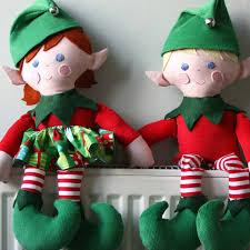 sewing patterns christmas elf elf twins christmas doll sewing pattern pdf by funkyfriendsfactory