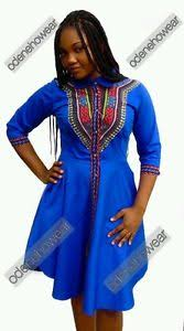 odeneho wear ladies polished cotton dress dashiki design african
