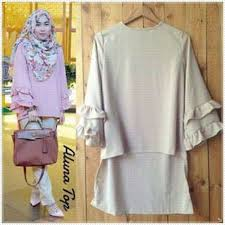 Baju Muslim Grosir gamis bahan jersey style 6