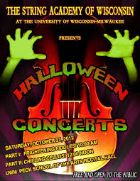 halloween city sheboygan wi 2012 halloween concerts the string academy of wisconsin