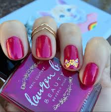 nails of the day lauren b beauty u0027s u0027rose bowl u0027 vegan beauty