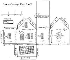 printable model house template cardboard model house template putz glitter houses template
