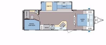 dutchmen rv floor plans coleman 262bh floorplan details