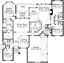 1 Story 4 Bedroom House Floor Plans 32 Best Floor Plans Images On Pinterest House Floor Plans