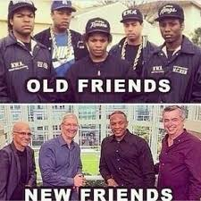 Dr Dre Meme - bryant worthing on twitter old friends vs new friends this drdre