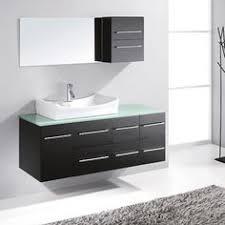 54 Inch Bathroom Vanity Single Sink A Cabinet Can Be Built Around This Bathroom Vanities