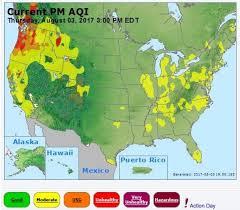 map of oregon smoke south central oregon management partnership august 4 2017
