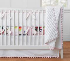 Pottery Barn Kids Baby Bedding Organic Pom Pom Baby Bedding Pottery Barn Kids Baby