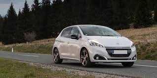 peugeot car lease france peugeot 208 review carwow