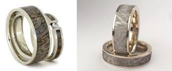 geeky wedding rings nerdy wedding rings