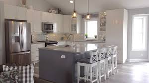 modern grey kitchen cabinets ikea a modern farmhouse kitchen for a self described ikea freak