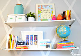 colorful and cozy office decor by diy playbook pink peppermint