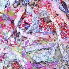 fabric ribbon sale half price liberty fabric ribbons strips scraps