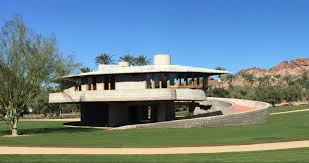 In Law House by Frank Lloyd Wright House In Phoenix To Suspend Tours