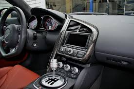 Audi R8 Interior - extended leather vs carbon interior