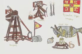 siege engines byzantine naval warfare siege weapons battle tactics p