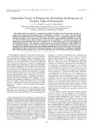 How To Write A Proposal Essay Example Microbiology Society Journals Taxonomic Notes A Proposal For
