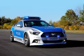ford car mustang german ford mustang cop car demands you respect its authority