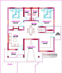 kerala home design 2 bedroom kerala small home plans free homes floor plans