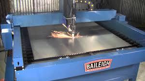baileigh plasma table software baileigh industrial pt 44s plasma table youtube