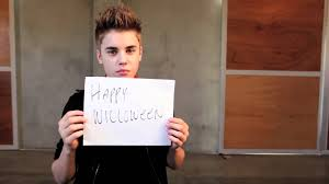 happy halloween from justin bieber youtube