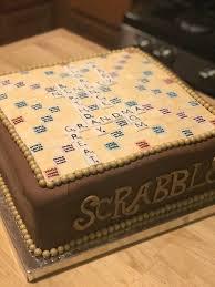 chocolate martini birthday homemade vanilla toffee scrabble birthday cake with chocolate