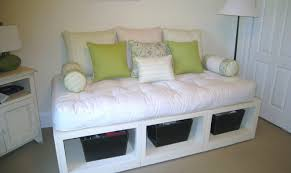 Futon With Storage Drawers Daybed White Wood Daybed With Storage Drawers Awesome Daybed