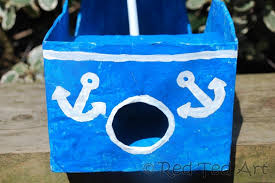 How To Make A Easy Toy Box by How To Make A Diy Pirate Ship Red Ted Art U0027s Blog