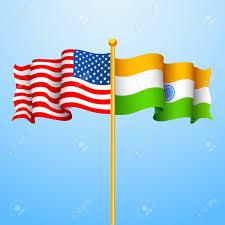 Flag Of Inida Illustration Of Flag India America Relationship Royalty Free