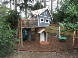 crooked treehouse superior play enchanted creations playhouses