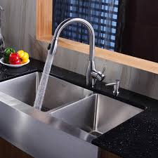Stainless Steel Kitchen Sink Combination KrausUSAcom - Double sink for kitchen