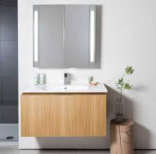 vanity mirror storage home design ideas and pictures
