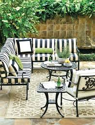 black and white striped patio furniture black and white stripe